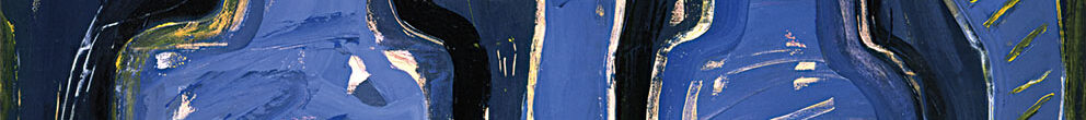 Sin título, 1986. Acrílico / Tela, 200 x 300 cm.