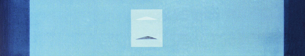 Sin título, 1989. Acrílico / Tela, 40 x 200 cm