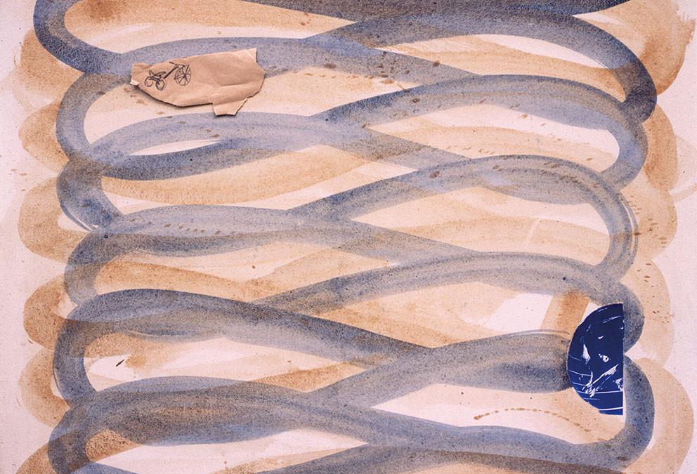 Rencontres, 1996. Técnica mixta / Tela, 90 x 117 cm.