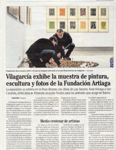 Faro de Vigo - 26/01/2018