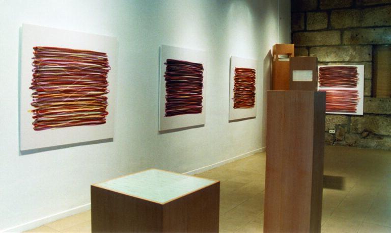 Rencontres, 1997. Instalación, 8 piezas.